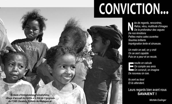 Convictions Zazakely